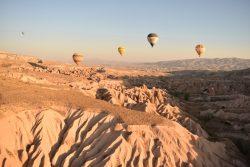 Cappadocia sorvolata in mongolfiera