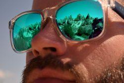 La Cappadocia riflessa negli occhiali di Enrico