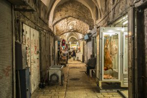 Souk musulmano a Gerusalemme