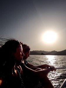 Crociera al tramonto in Oman