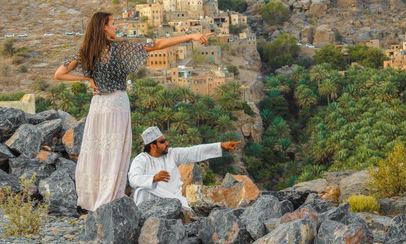 Io e Adil su un'altura nei pressi di Misfat