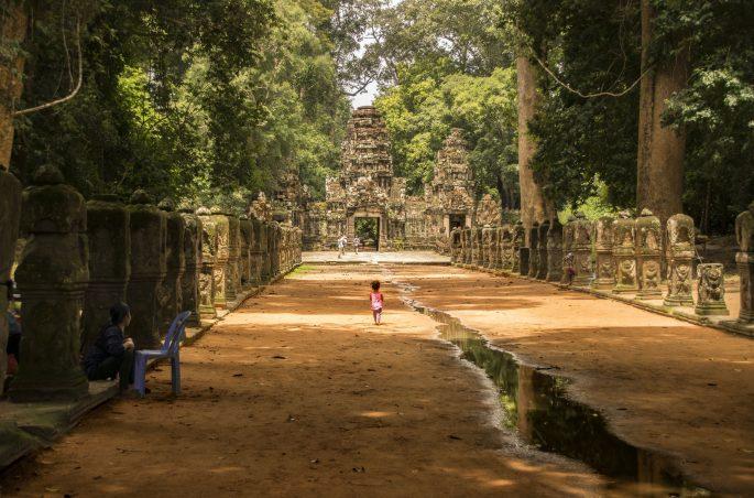 Visitare Angkor: ingresso Preah Khan