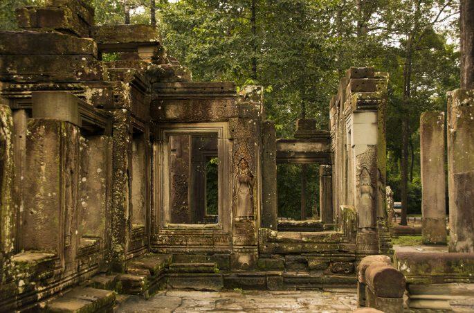 Visitare Angkor: Bayon