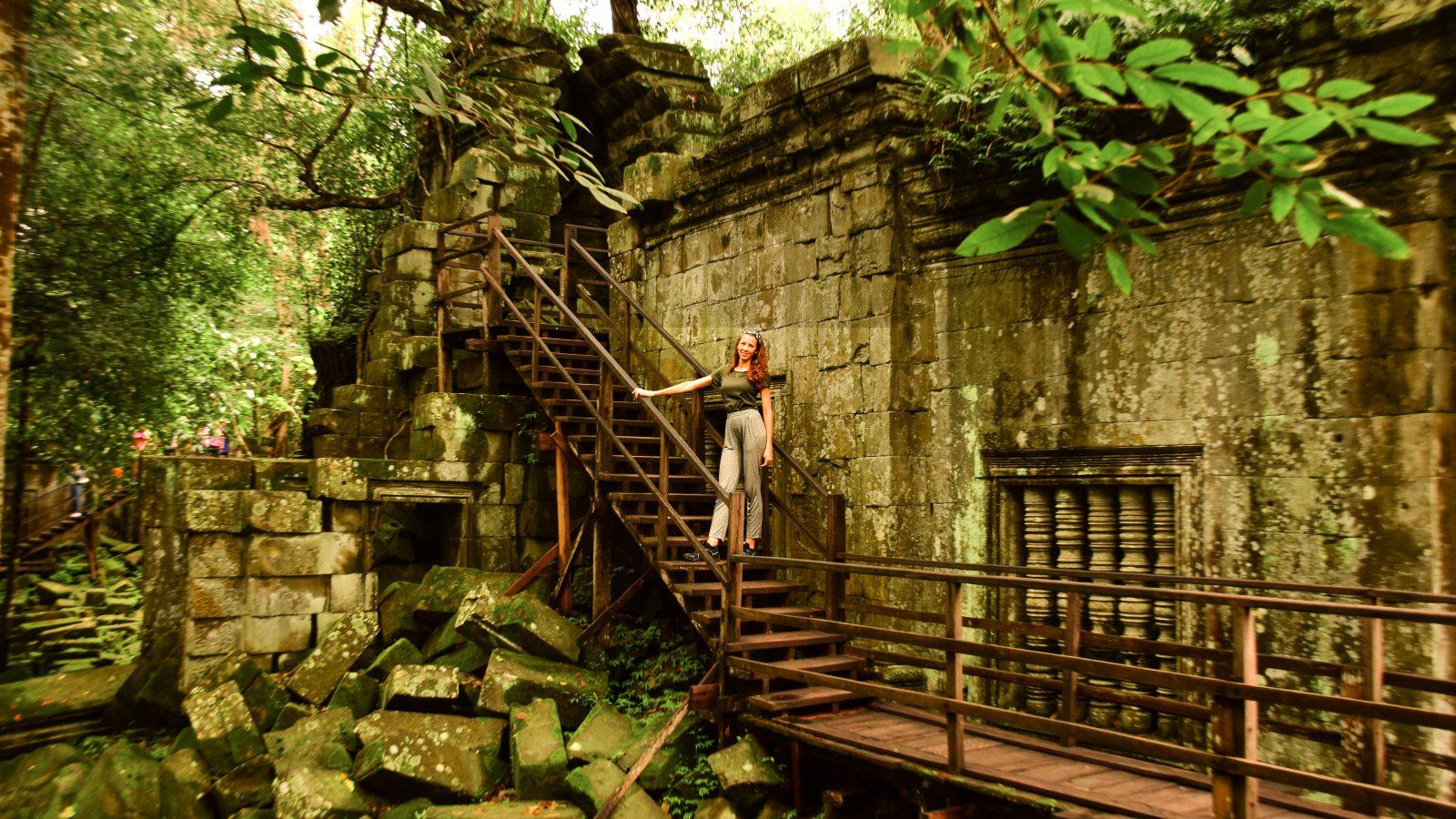 Visitare il Beng Mealea, il tempio dei fiori di Loto