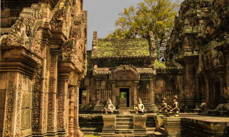 Visitare Angkor: Benteay Srei