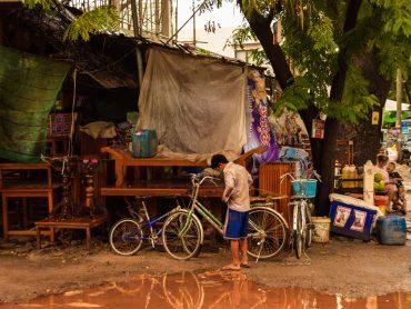 Vita in Cambogia nella cittadina di Siem Reap