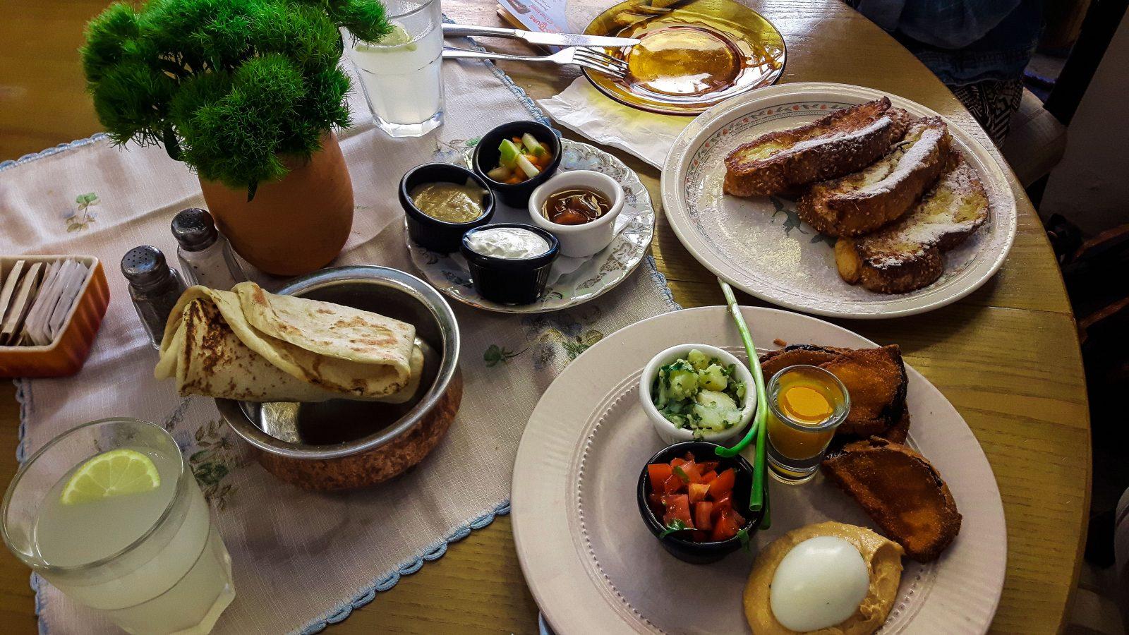 Colazione da Puaa a Jaffa