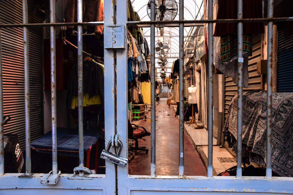I mercati di Jaffa dopo la chiusura