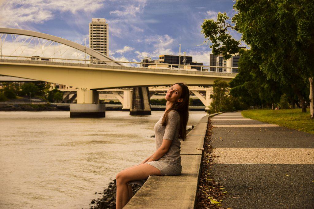West End Brisbane River vicino a Davies Park Market