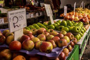 Davies Park Market banchetto della frutta