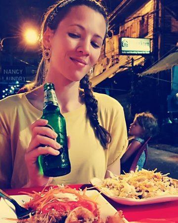 Ristorante street food a Bangkok