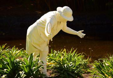 Brisbane Botanic Gardens Scultura nel parco